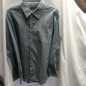 Men's Perry Ellis LS Dress Shirt XL